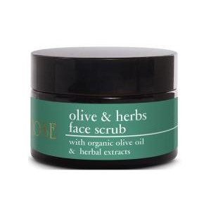 Yellow Rose Olive & Herbs Face Scrub